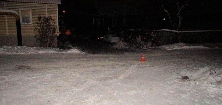 В Ижевске 8-летняя девочка на тюбинге попала под машину