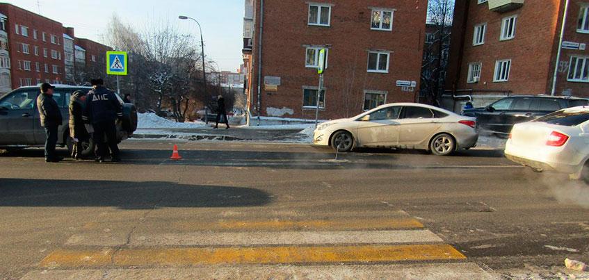 В Ижевске неизвестный сбил 13-летнего ребенка на тротуаре и скрылся