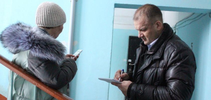 Представители рабочей группы встретились с жителями дома на Удмуртской, 261