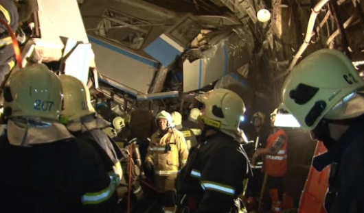 Неисправность путевой стрелки могла стать причиной аварии в московском метро