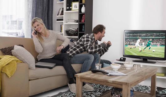 ЧМ по футболу увеличил аудиторию телеканалов