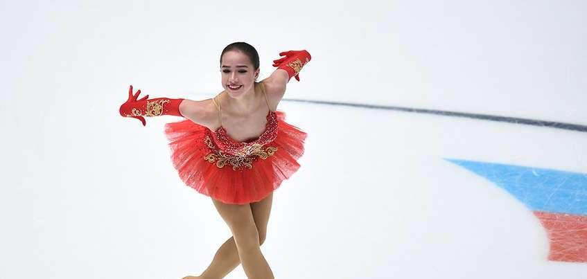 Фигуристка из Ижевска Алина Загитова победила на Чемпионате России с результатом в 233.59 балла