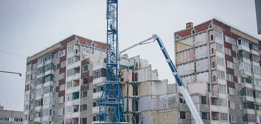 Демонтаж секции дома на Удмуртской, 261 в Ижевске планируют завершить 15 февраля