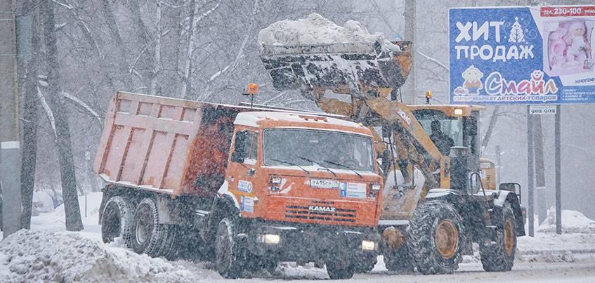 Ижевский дворник: «Этой зимой так же много работы, как и в прошлом году»