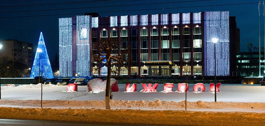 В новогоднюю ночь в Ижевске ограничат движение по нескольким улицам