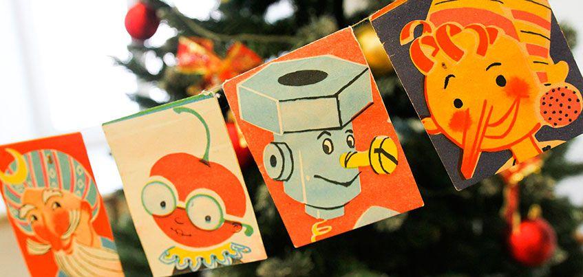 Дед Мороз из ваты и стеклянная кукуруза:как мы украшали новогодние елки в советские годы
