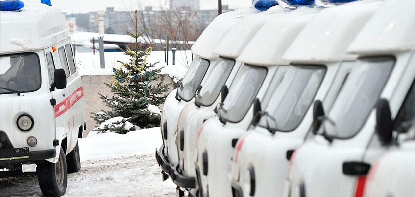 Удмуртия получила 35 новых машин скорой помощи