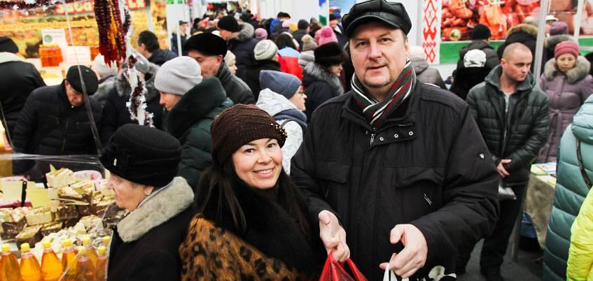 В Ижевске состоялась большая Новогодняя ярмарка