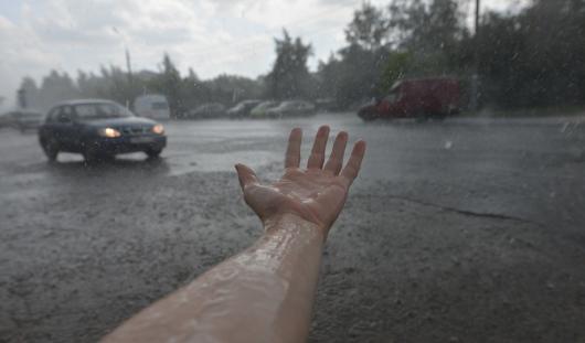 Вечером 16 июля в Ижевск может прийти сильная гроза