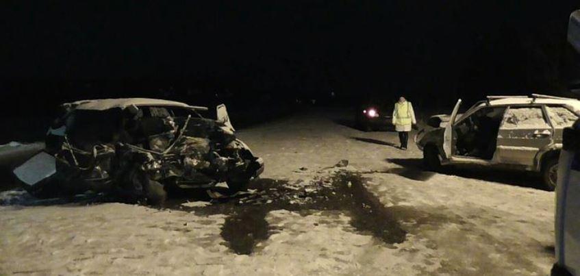 В Удмуртии при столкновении двух авто погиб 58-летний мужчина