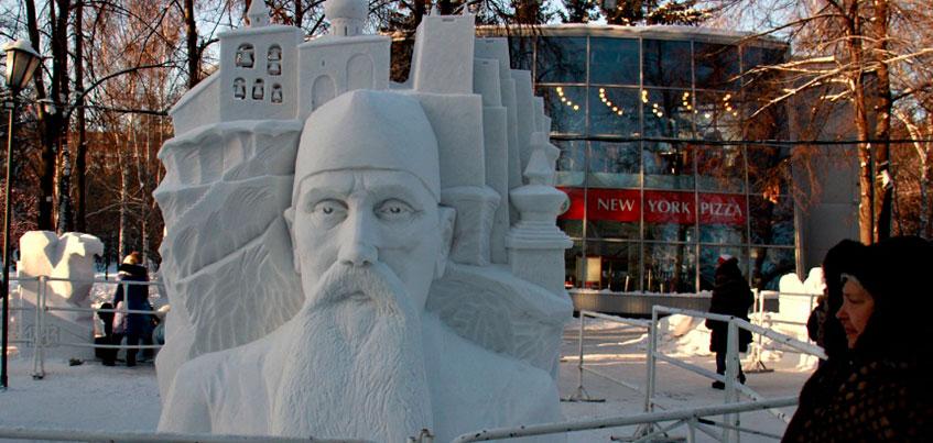 Скульптор из Ижевска вошел в число победителей Сибирского фестиваля снежной скульптуры