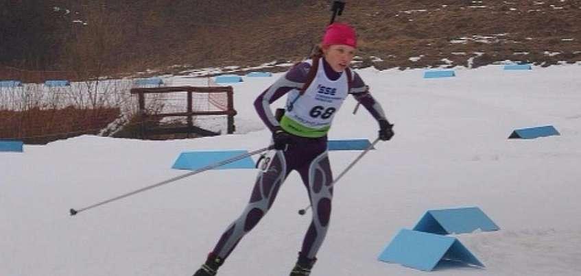 Биатлонистка из Удмуртии Кристина Егорова стала призером Всероссийских соревнований