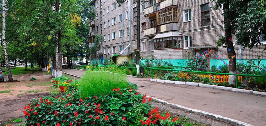 179 дворов Ижевска планируют благоустроить  за пять лет