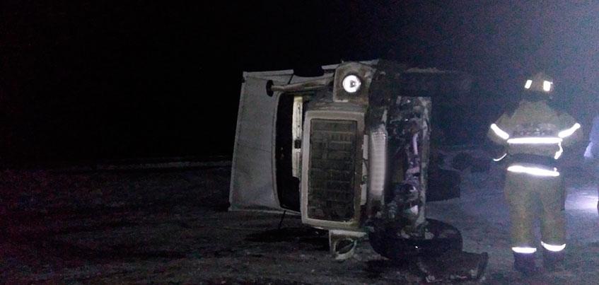 В Удмуртии легковой автомобиль столкнулся с грузовиком в Завьяловском районе