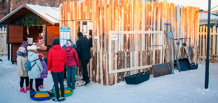Ледовый городок «Сказбург» на Центральной площади Ижевска могут продолжить строить