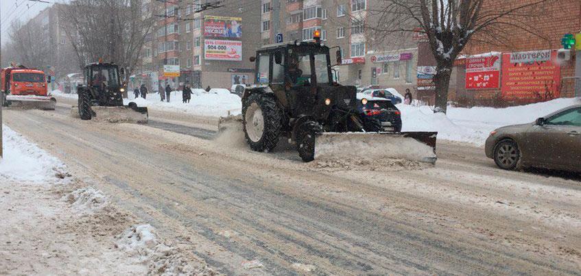 Торги по содержанию дорог Ижевска пройдут в конце января