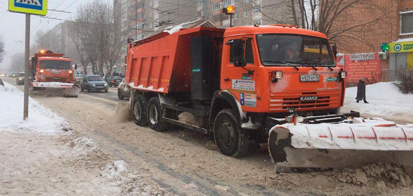 Более 70 тысяч тонн снега вывезли с улиц Ижевска с начала зимы
