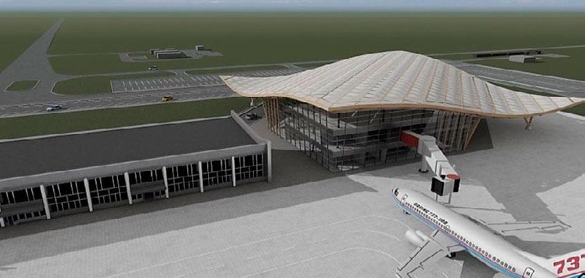 Фотофакт: появились эскизы проекта реконструкции аэропорта Ижевска