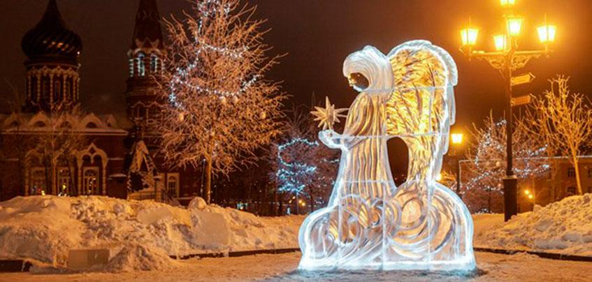 27 ледяных скульптур появятся в Ижевске в рамках Ледового фестиваля ангелов и архангелов
