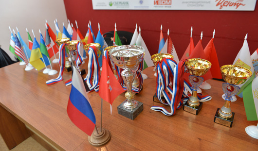 Победителем блиц-турнира на международном шахматном фестивале Кубок корпорации «Центр» в Ижевске стал Геннадий Матюшин из Украины