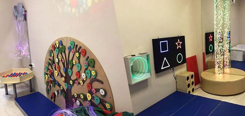Сенсорная комната для особенных малышей открылась в Ленинском районе