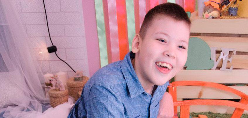 Нужна помощь: 12-летнему Данилу с поражением ЦНС нужна реабилитация в Москве
