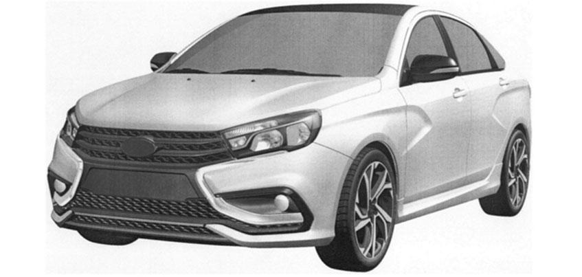 «АвтоВАЗ» рассекретил изображения Lada Vesta Sport, которую будут собирать в Ижевске