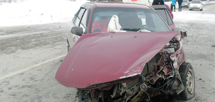 Женщина и ребенок пострадали в ДТП из-за пьяного водителя в Удмуртии