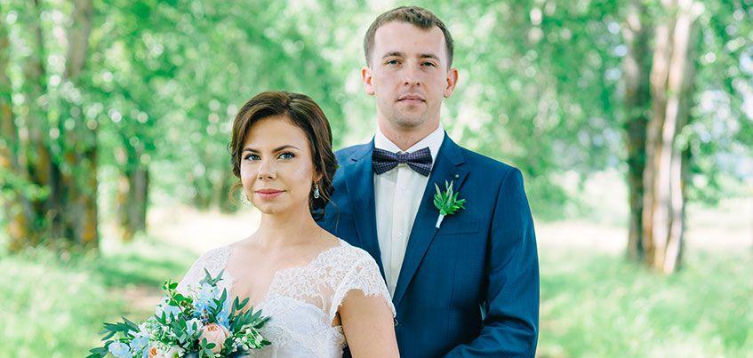 Ижевские молодожены: За месяц до свадьбы жених сломал плечо