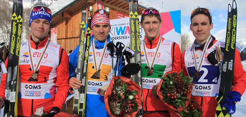 Лыжник из Удмуртии Сергей Ардашев стал бронзовым призером первенства мира в Швейцарии