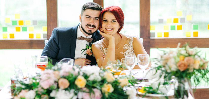 Ижевские молодожены: Устроили свадьбу в стиле «капучино»