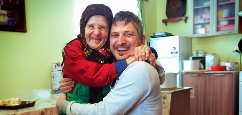 Группа «Ундервуд» посетила «Бабушек из Бураново» во время гастролей в Удмуртии