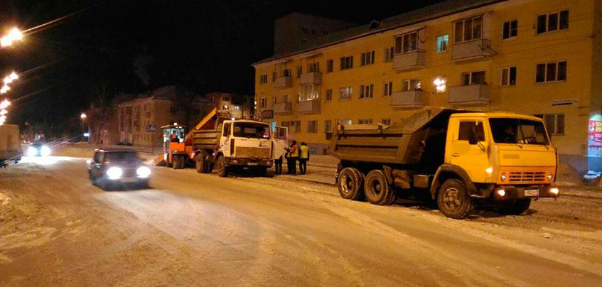 В феврале с улиц Ижевска планируют вывезти 100 тысяч кубометров снега