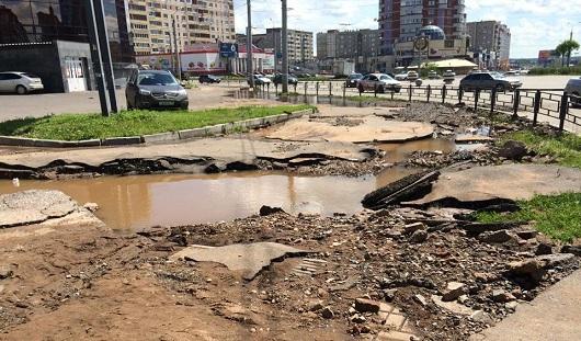 150 миллионов рублей составил ущерб от потопов в Ижевске