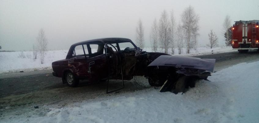Пять человек пострадали в ДТП, которое устроил пьяный водитель на трассе в Удмуртии