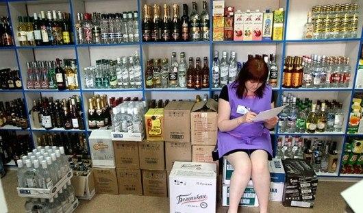 Вслед за сигаретами с прилавков могут убрать алкоголь