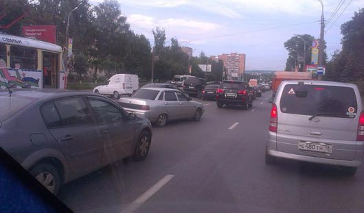 В Ижевске из-за аварии встали трамваи в сторону городка Металлургов