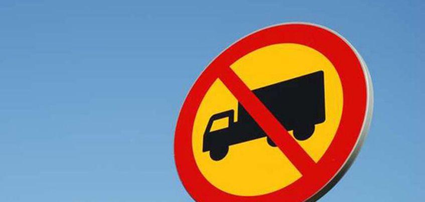 С 1 апреля в Удмуртии ограничат движение грузовиков по трассам