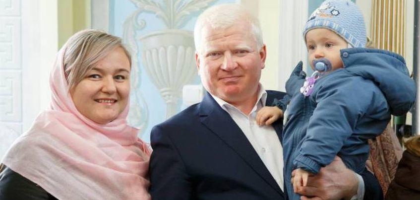 Житель Удмуртии попал в финал Всероссийского конкурса«Папа года»