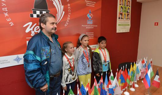 В Ижевске завершился VI международный фестиваль «Кубок по шахматам Корпорации «Центр»