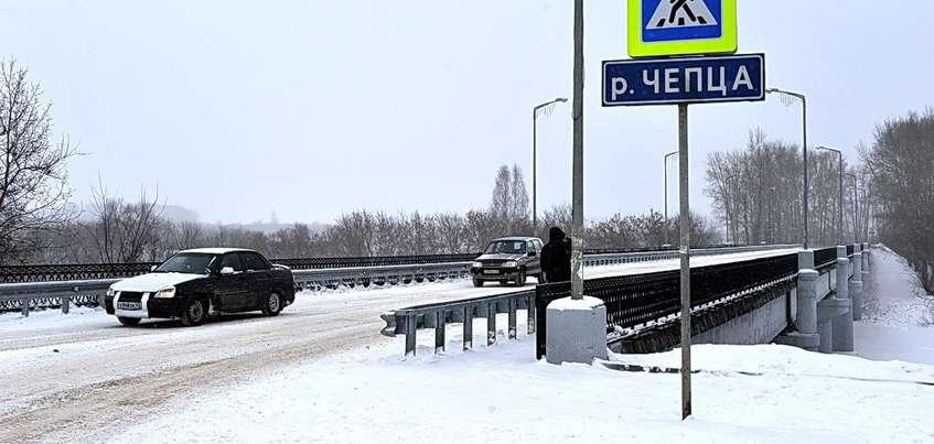 В Удмуртии открыли третий мост, отремонтированный за счет системы «Платон»