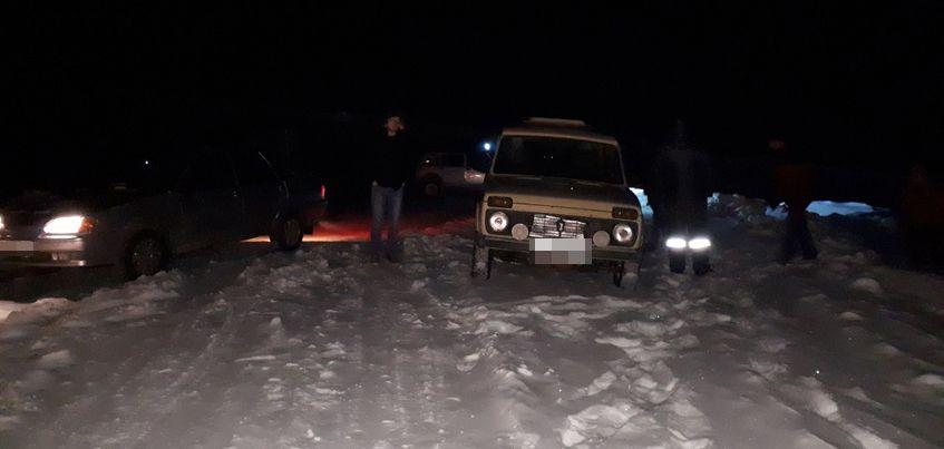 В Глазовском районе Удмуртии спасли замерзающего мужчину