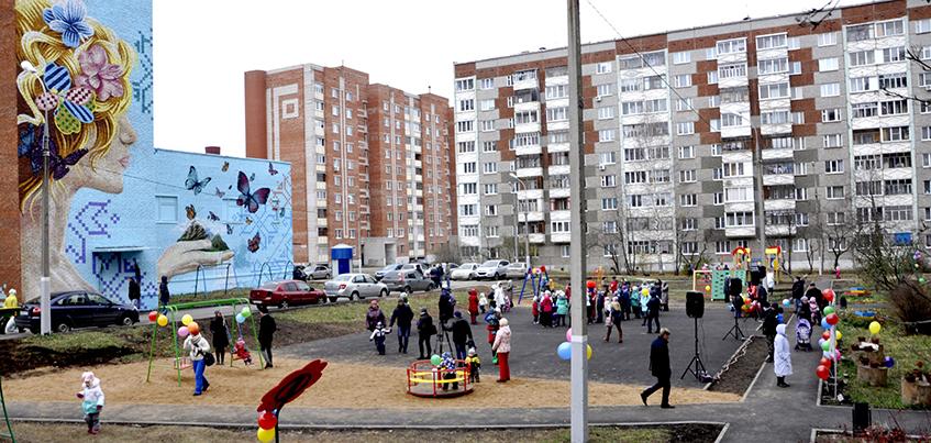 Стали известны дворы, которые отремонтируют в 2018 году в Ижевске