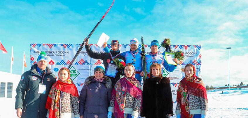 Лыжник из Удмуртии Константин Главатских стал бронзовым призером финала Кубка России в скиатлоне