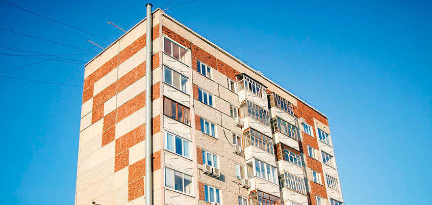С подъездов №4 и №6 дома на Удмуртской в Ижевске сняли режим ЧС