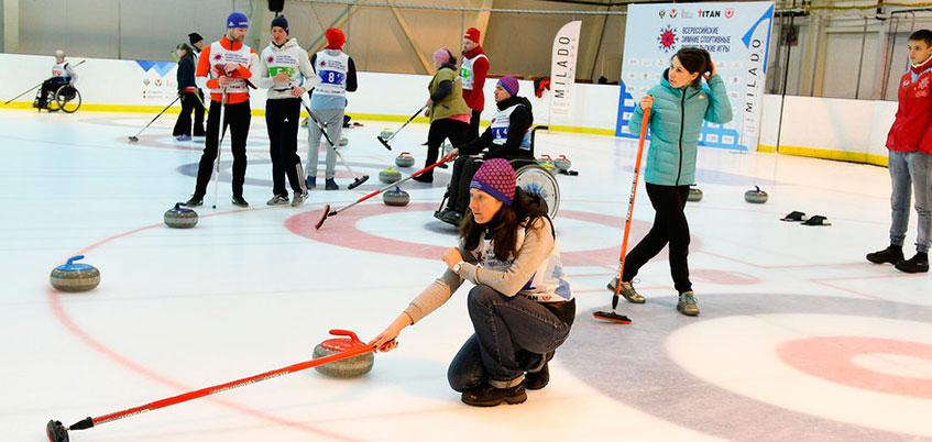 В Ижевске стартовали Всероссийские зимние любительские игры
