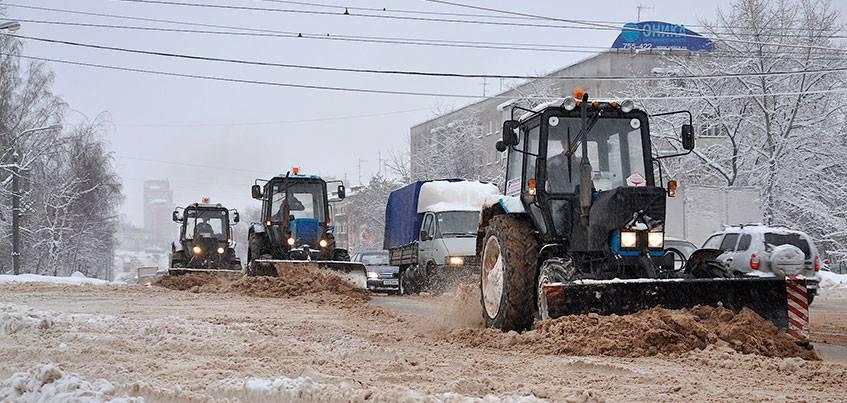 Как в Ижевске работает новая система уборки улиц?