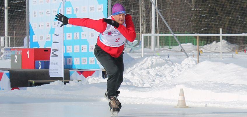 Председатель Гордумы Ижевска стал лучшим среди конькобежцев на Всероссийских зимних любительских играх