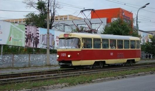 В Ижевске 28 июля по Карла Маркса пустят трамвай № 4
