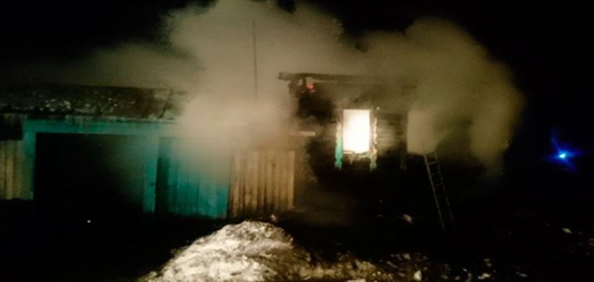 Женщина и двое детей погибли при пожаре в Можгинском районе Удмуртии